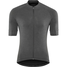 Giro New Road Maillot de cyclisme Homme, charcoal heather